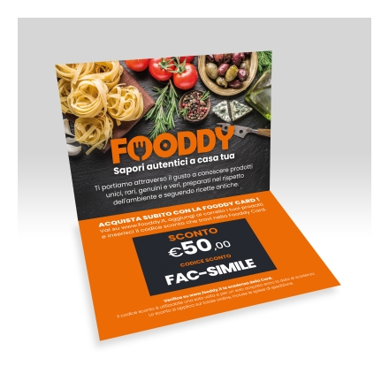 Fooddy Gift Card - 50 Euro