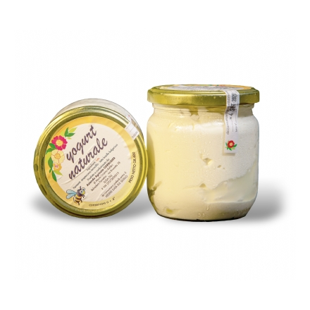 Yogurt di Mucca Naturale