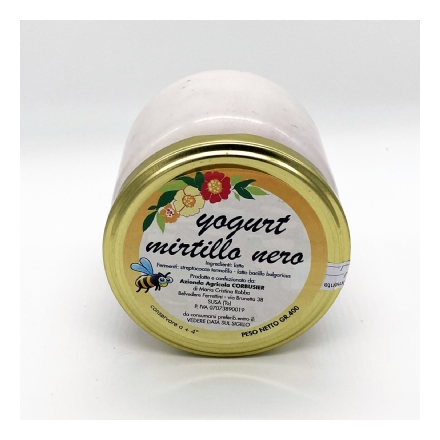 Yogurt di Mucca Mirtilli