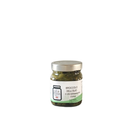Broccolo dell'Olio in Olio Extravergine d'Oliva